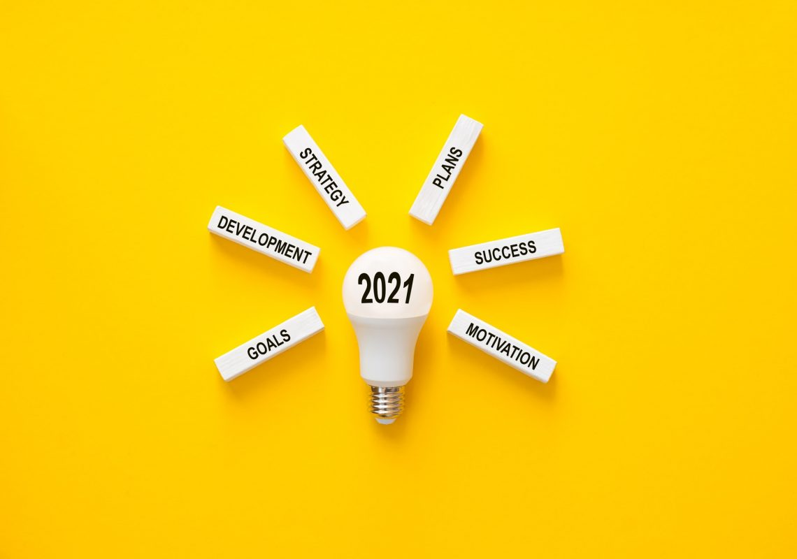 business, 2021, goals, innovation, lightbulb, motivation, plan, strategy, action, analysis